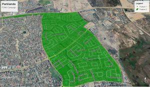 Parklands Map
